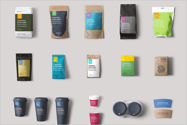 Coffee Branding Packing Mockup