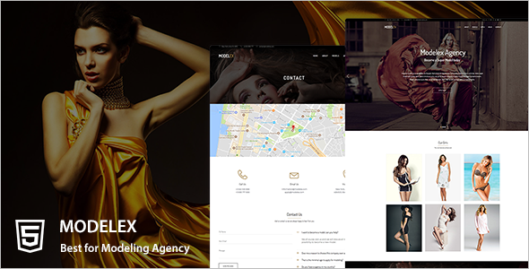 Coming Soon Agency Website Template