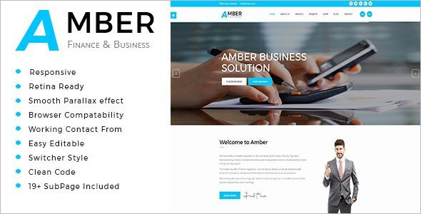 Coming Soon Business Website Template