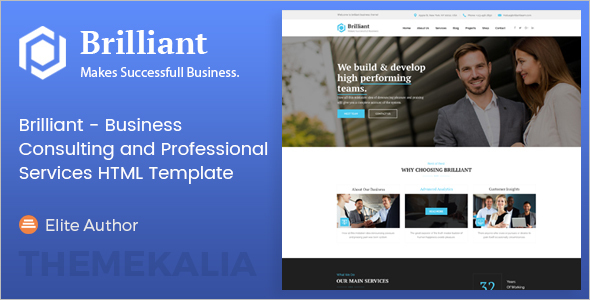 Company Consulting Website Template