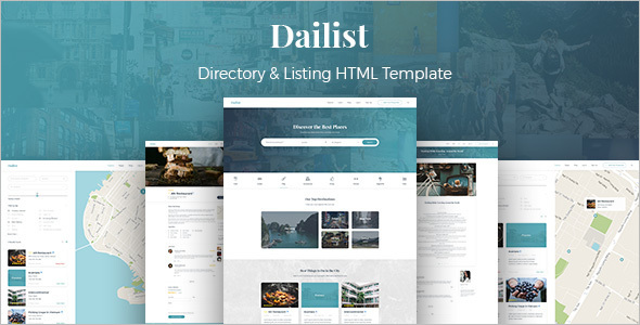 Company Website HTML Template