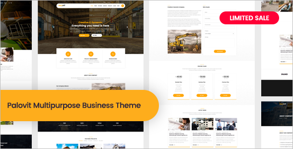 Construction Architecture Website Template
