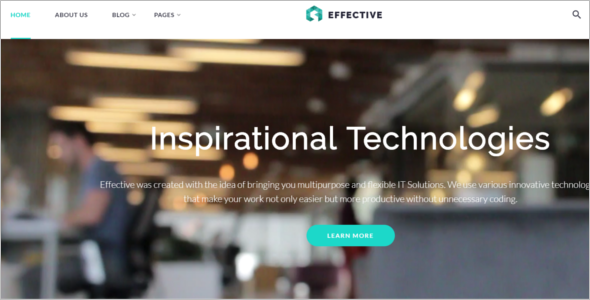 Consultancy Development Website Theme