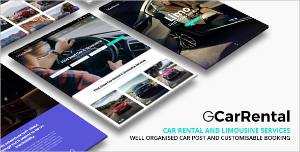 Corporate Automobile Website Template