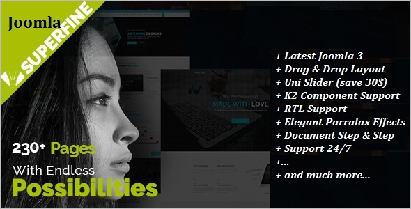 Corporate Multi Purpose Joomla Template