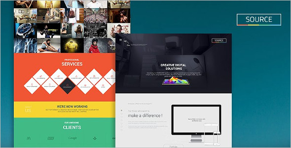Creative Company Website Template