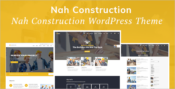 Creative Construction Website Template