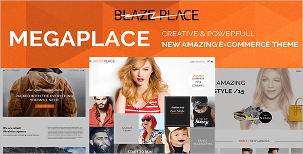 Creative E-Commerce Website Theme