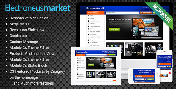 Creative Electronics Prestashop Theme
