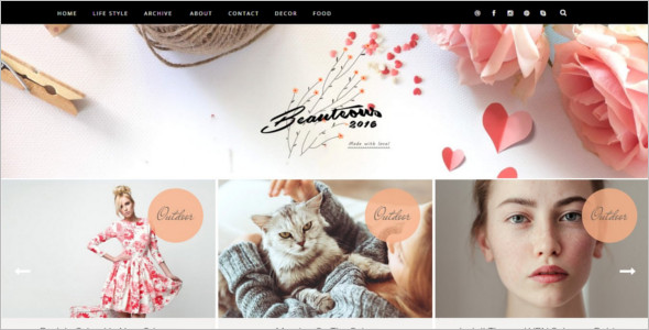 Creative Friendly Blogger Template