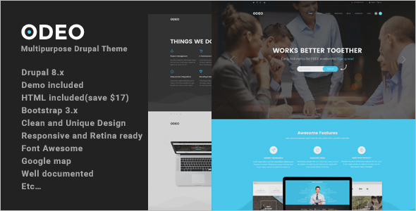 Creative Interior Design Drupal Theme