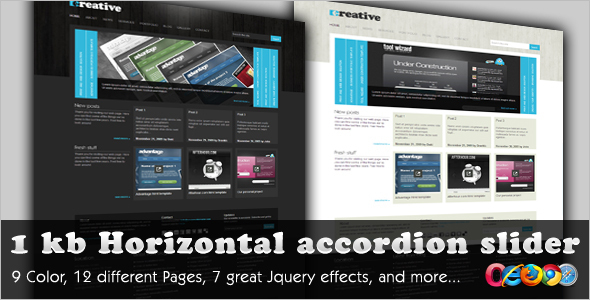 Creative News Portal Magento Theme