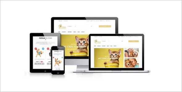 Creative Pet Prestashop Template