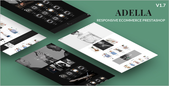 Creative Prestashop E-commerce Theme