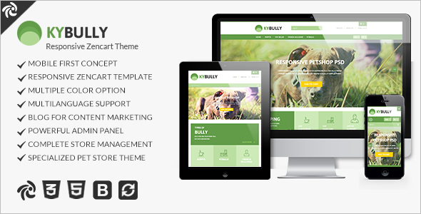 Creativr Mobile Friendly ZenCart Template