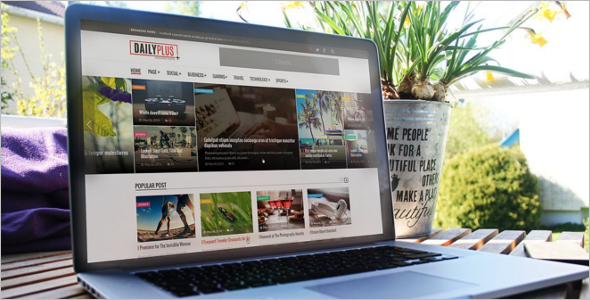 Daily News WordPress Theme
