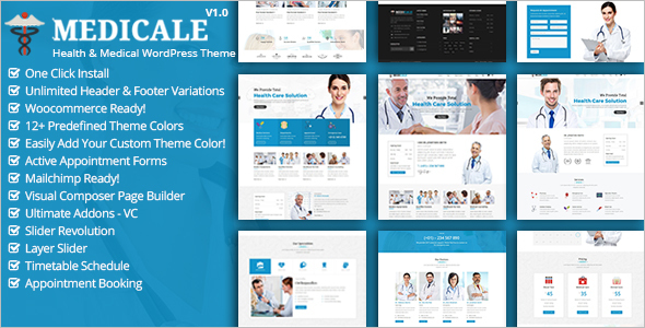 Dental Hospital Website Theme