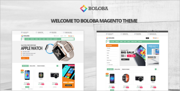 Digital News Portal Magento Theme