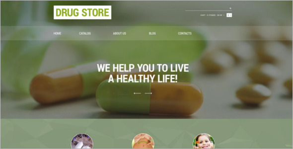 Drug Store Responsive VirtueMart Template