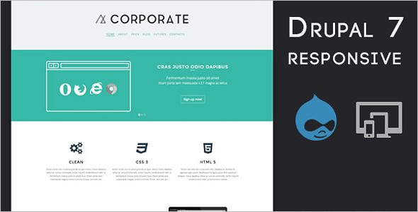 Drupal Business Bootstrap Theme