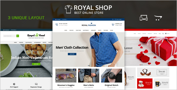 E-Commerce Business Opencart Theme