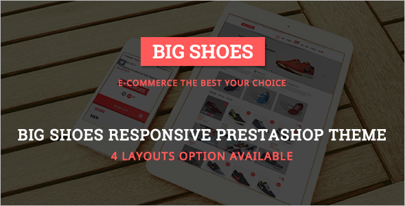 E-Commerce Business Prestashop Template