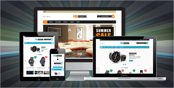 E-Commerce Furniture Prestashop Template