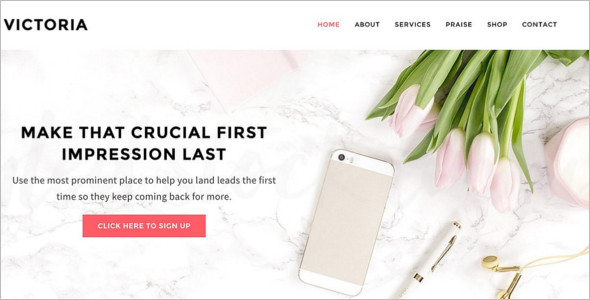 E-Commerce Website Blog Theme