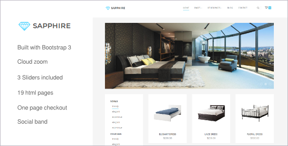E-Store Bootstrap Website Template