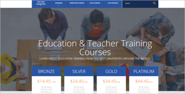 Education OpenCart Template