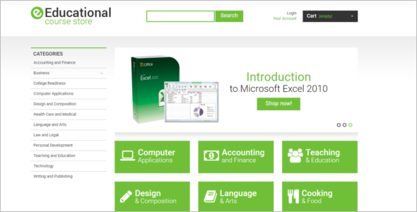 Educational Courses Prestashop Theme