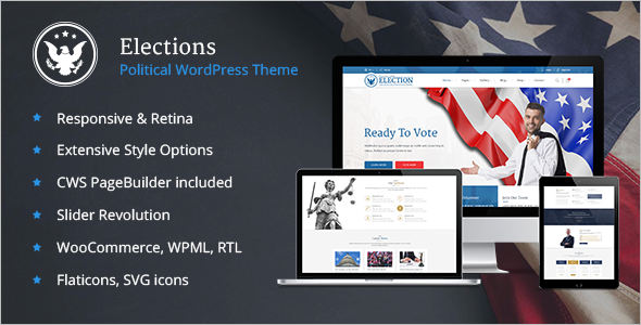 Election Website theme