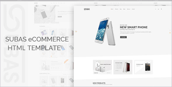 Electronic Store Bootstrap Template