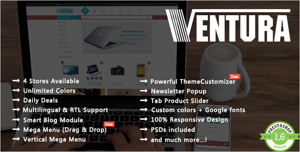 Electronics Shopping Prestashop Theme