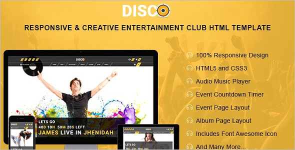 Entertainment Magento HTML Template