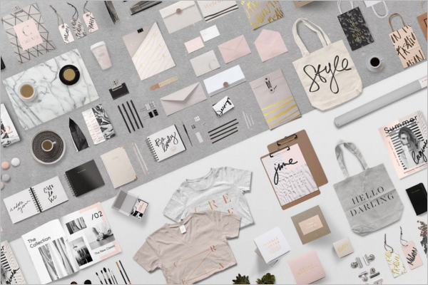 Essential Packing Branding Mockup Template