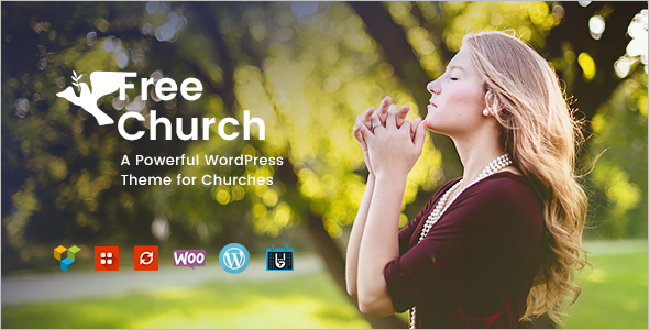 Event Church Website Theme
