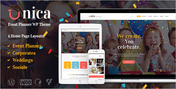 Event Planning Agency Template