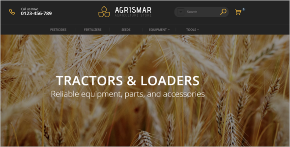 Farming Business Prestashop Template