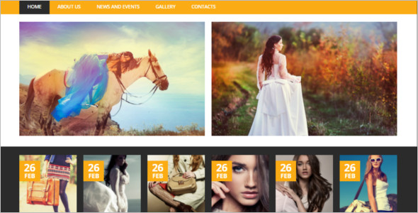 Fashion Blog Responsive Template