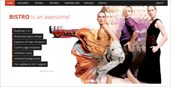 Fashion Boutique Website Template