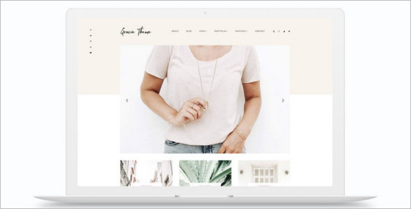 Fashion E-Commerce Website Theme