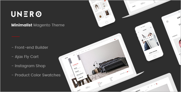 Fashion E-commerce Magento Template