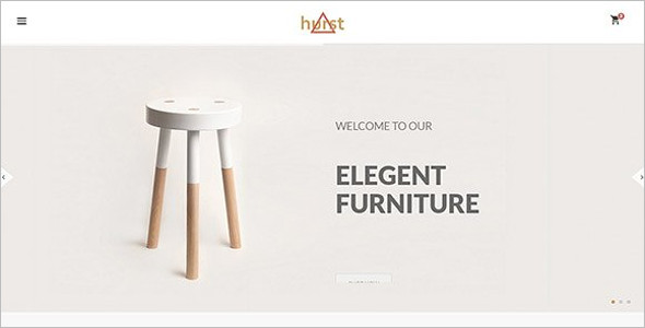 Fashion Furniture Bootstrap Theme