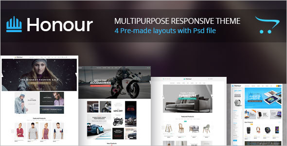 Fashion Furniture OpenCart Template