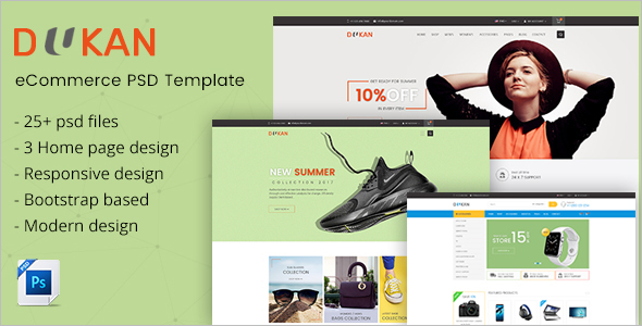Fashion Magento PSD Template
