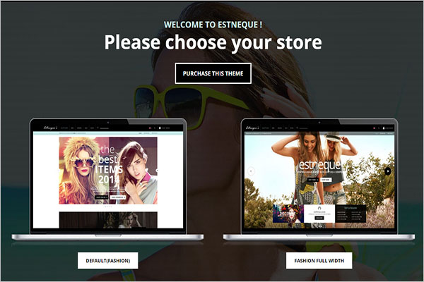 Fashion Portfolio OpenCart Theme