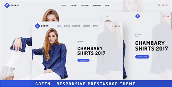 Fashion Prestashop Ecommerce Theme