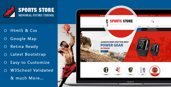 Fitness Club Website Theme