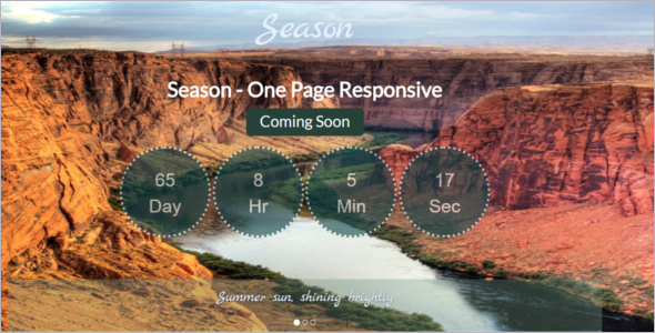 Free Responsive Coming Soon Website Template